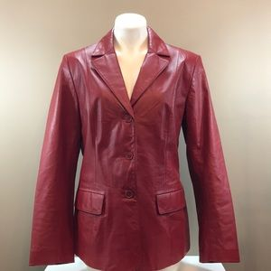 DANIER Leather Jacket Size Large